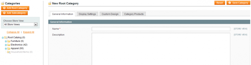 Create a new root directory for your multi-store Magento