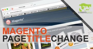 How to change a CMS page title in Magento